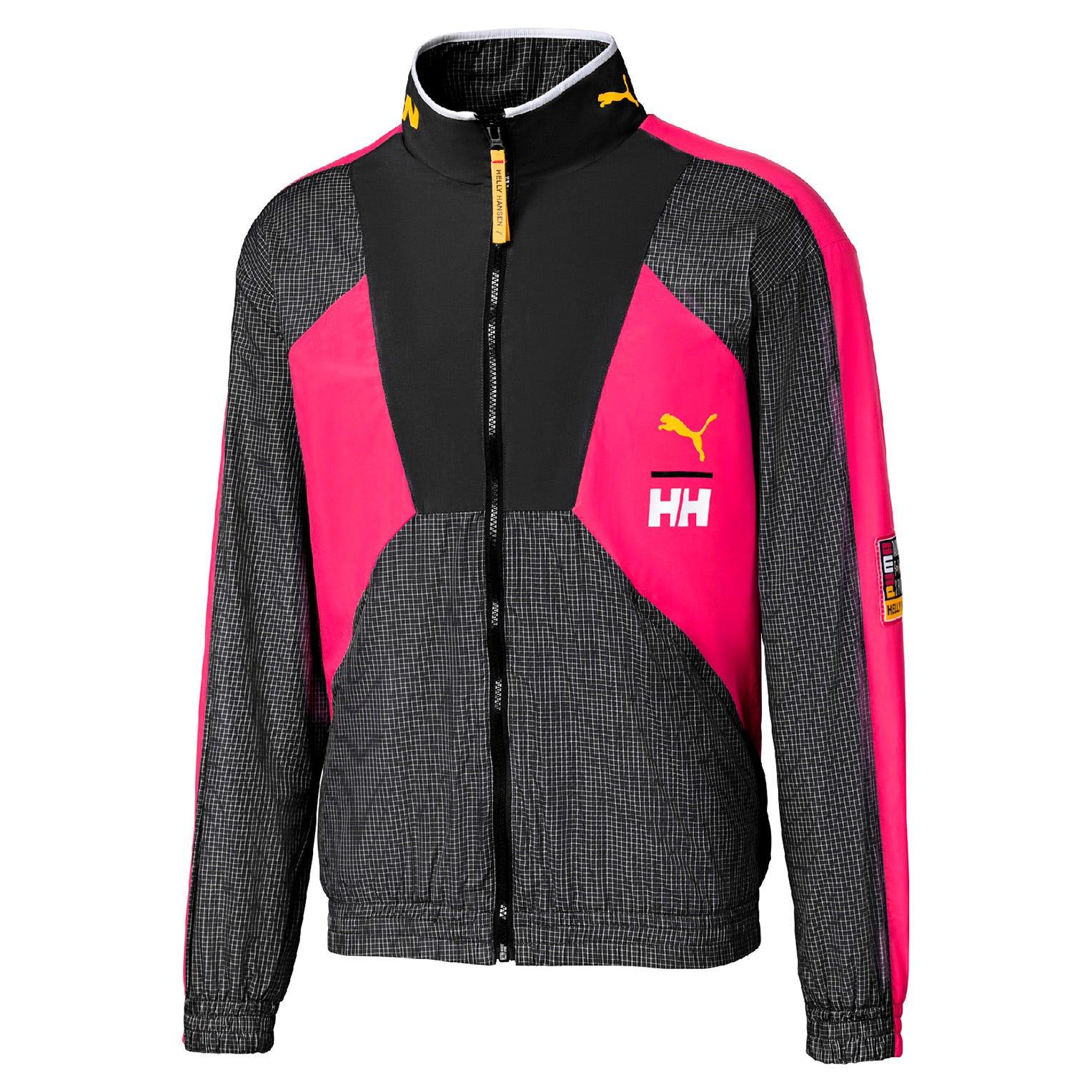 Helly Hansen Puma X Tfs Track Chemise Rose Xl