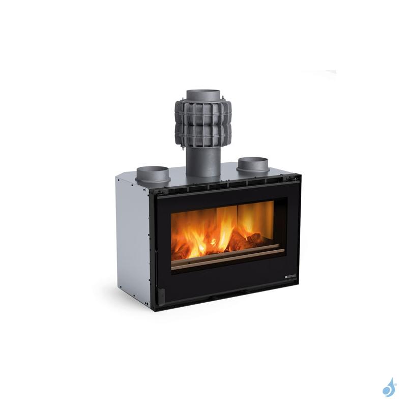 La Nordica Extraflame Inserto 80 PRS Crystal Insert à bois ventilé 8,3kW A+