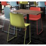 TABLE CARRÉE SPINNER HT 90 CM livraison gratuite dans notre magasin!... par LeGuide.com Publicité