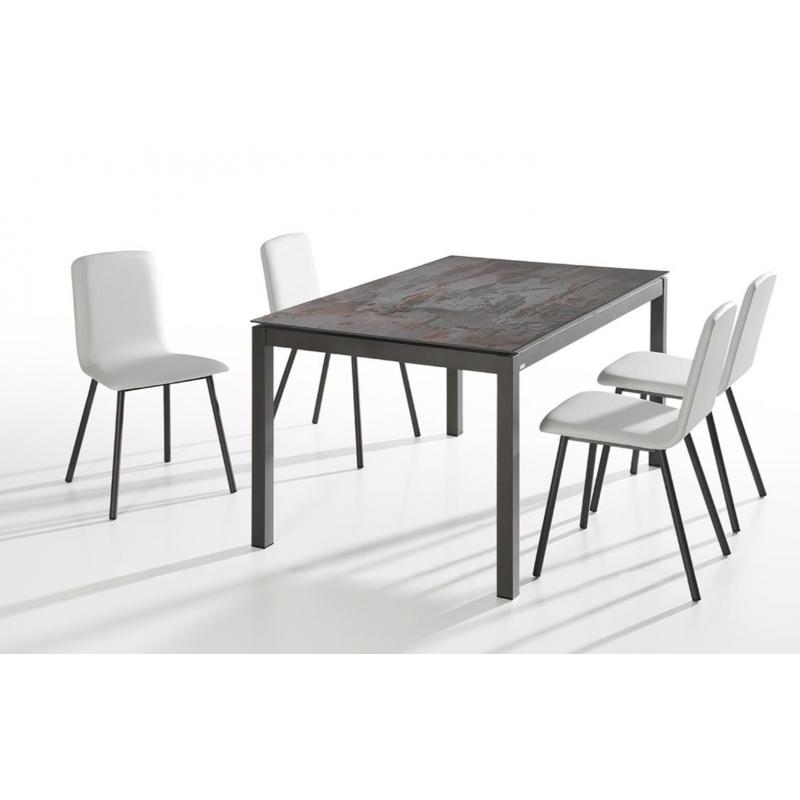 TABLE EN CERAMIQUE EXTENSIBLE DINA