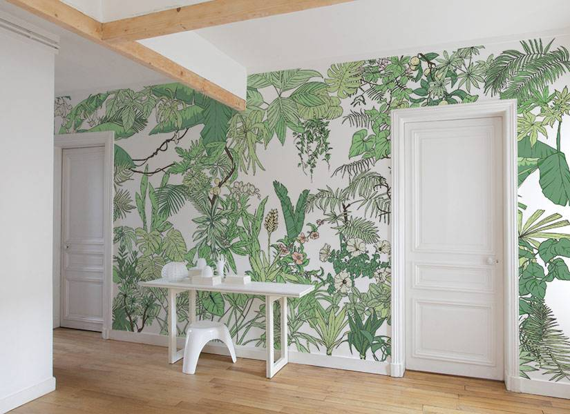 Ohmywall Papier peint Jungle Tropical BALI Big Panoramique