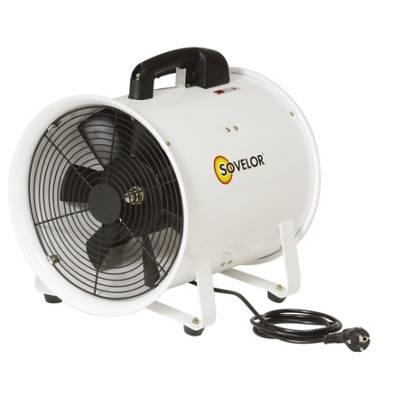 Sovelor Ventilateur extracteur portable V300 Sovelor