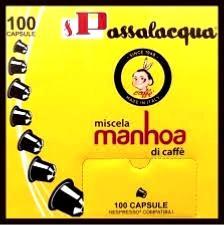 PASSALACQUA 10 capsules Passalacqua Manhoa type Nespresso®