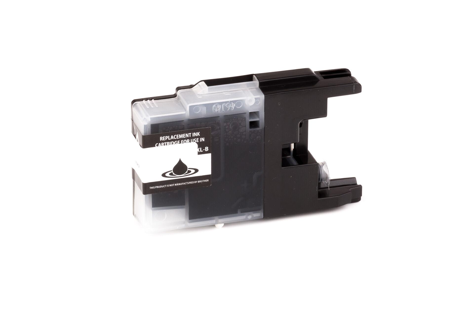 Brother Cartouche d'encre pour Brother LC1240BK noir compatible (de marque ASC)
