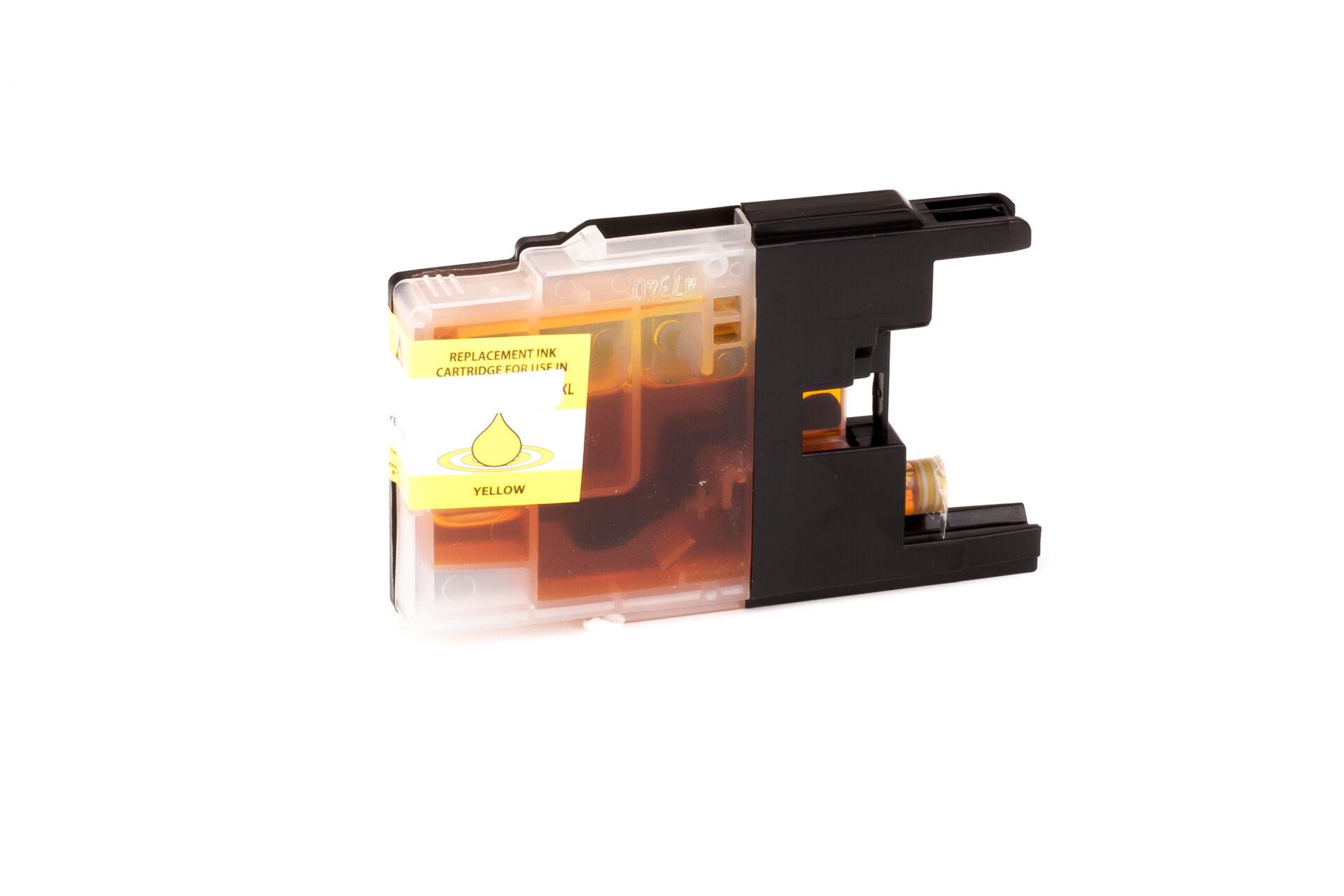 Brother Cartouche d'encre pour Brother LC1240M magenta compatible (de marque ASC)