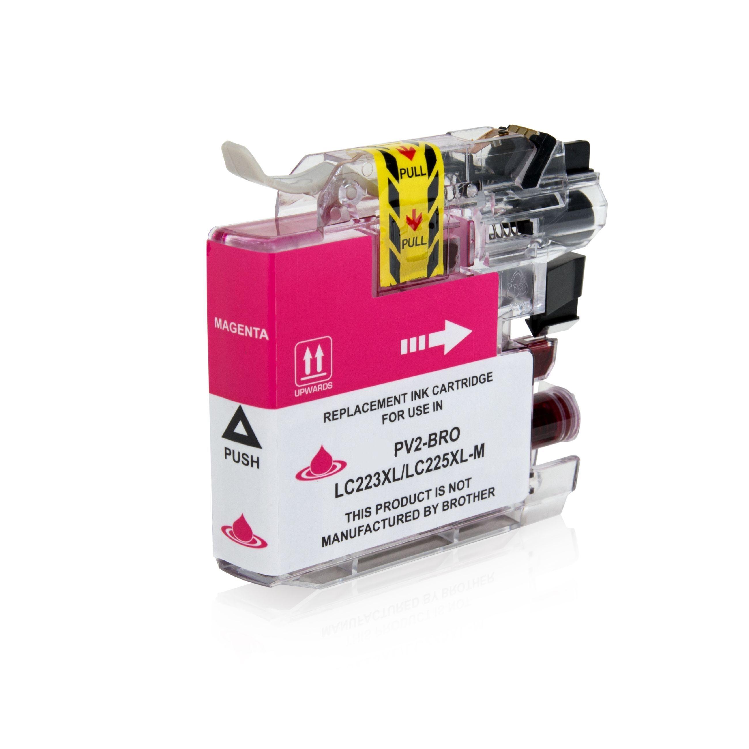Brother Cartouche d'encre pour Brother LC223M magenta compatible (de marque ASC)
