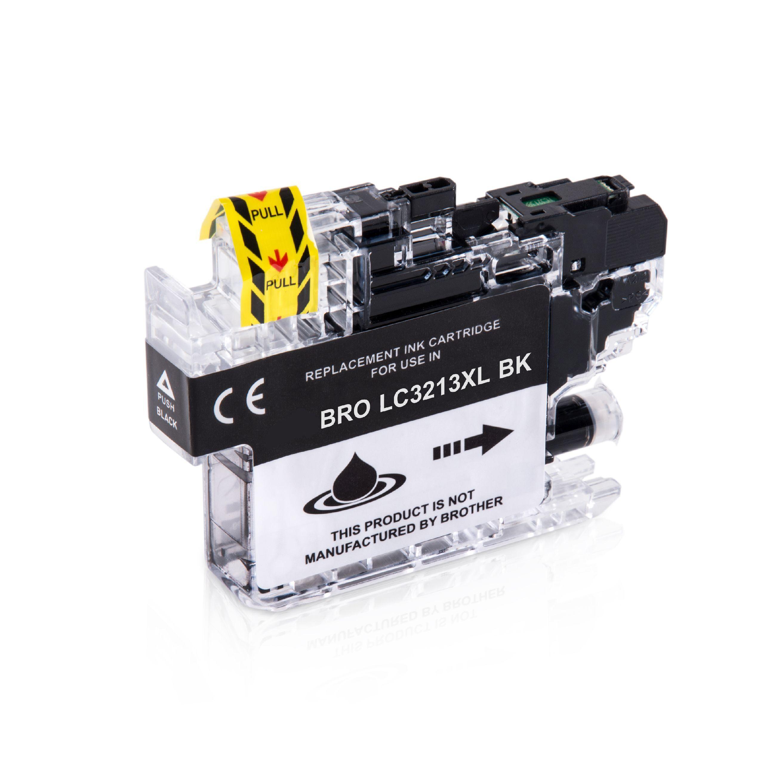 Brother Cartouche d'encre pour Brother LC3213BK noir compatible (de marque ASC)