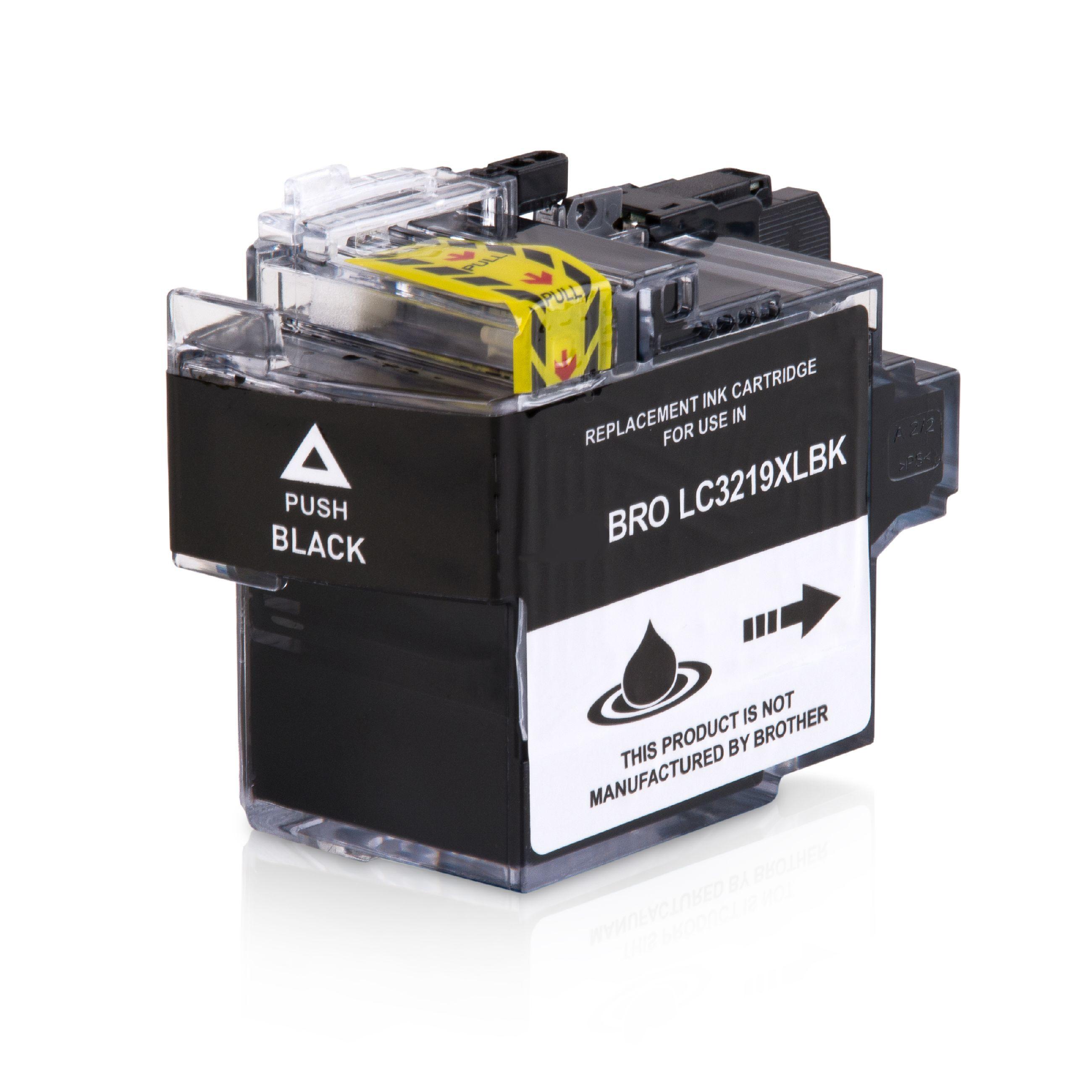 Brother Cartouche d'encre pour Brother LC3219XLBK noir compatible (de marque ASC)