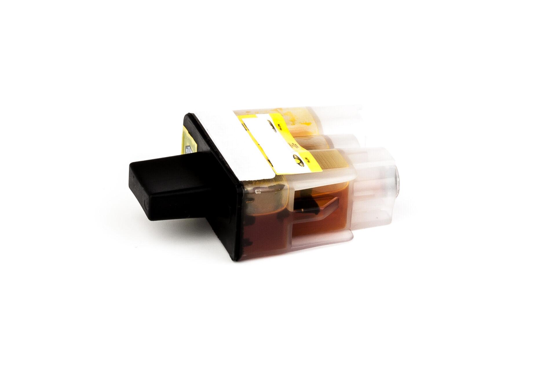Brother Cartouche d'encre pour Brother LC900Y jaune compatible (de marque ASC)