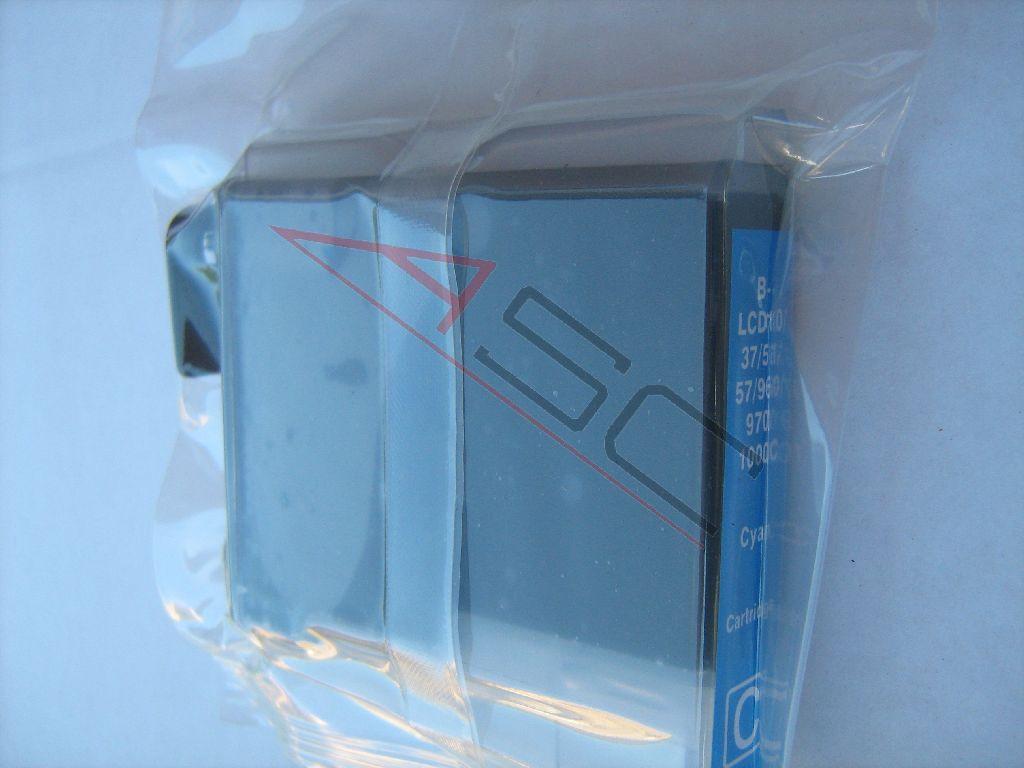 Brother Cartouche d'encre pour Brother LC1000C cyan compatible (de marque ASC)