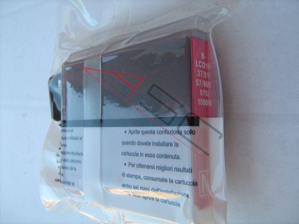 Brother Cartouche d'encre pour Brother LC1000M magenta compatible (de marque ASC)
