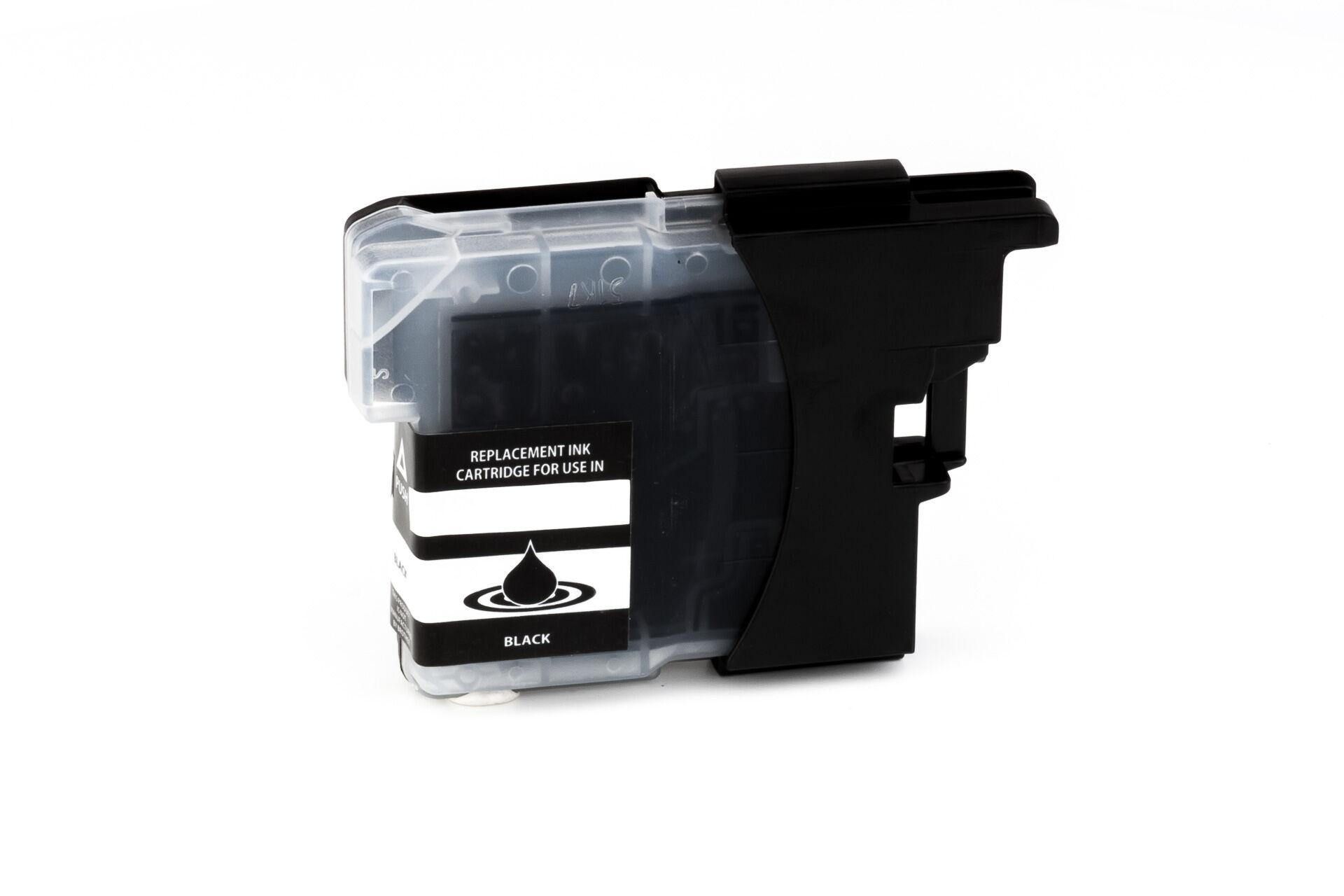 Brother Cartouche d'encre pour Brother LC985BK noir compatible (de marque ASC)