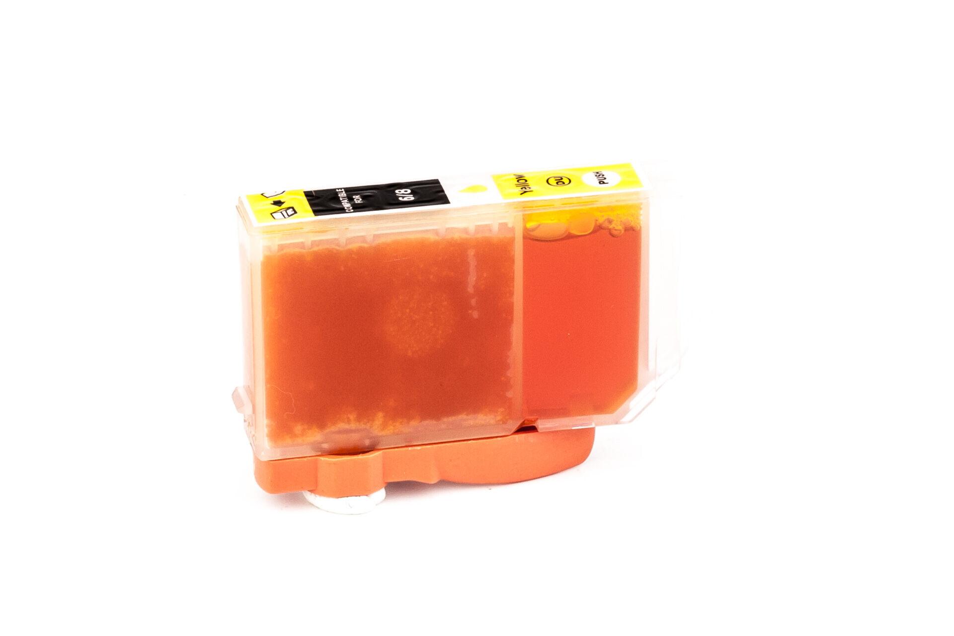 Canon Cartouche d'encre pour Canon 4708A002 / BCI-6 Y jaune compatible (de marque ASC)