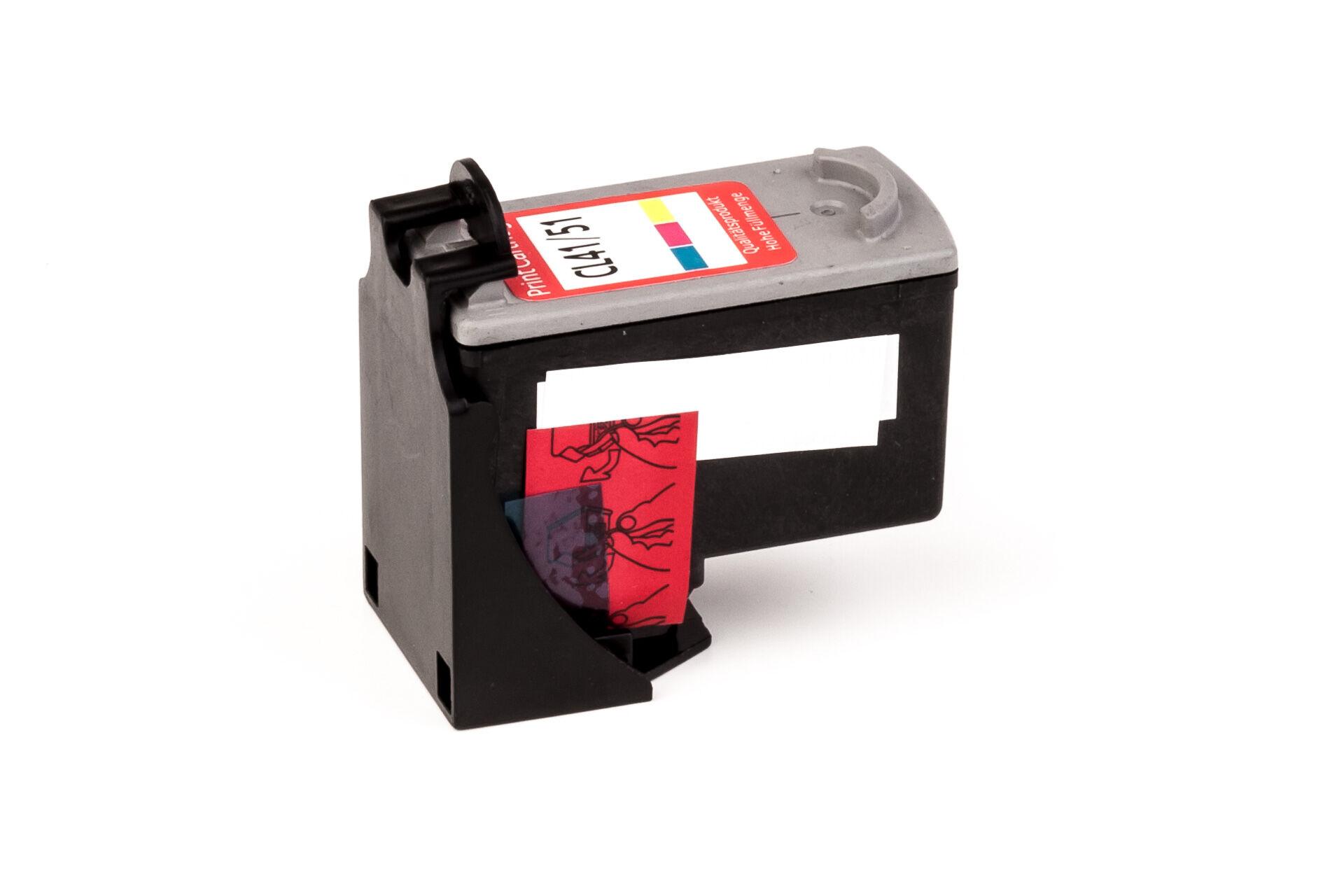 Canon Cartouche d'encre pour Canon 0618B001 / CL-51 Couleur compatible (de marque ASC)