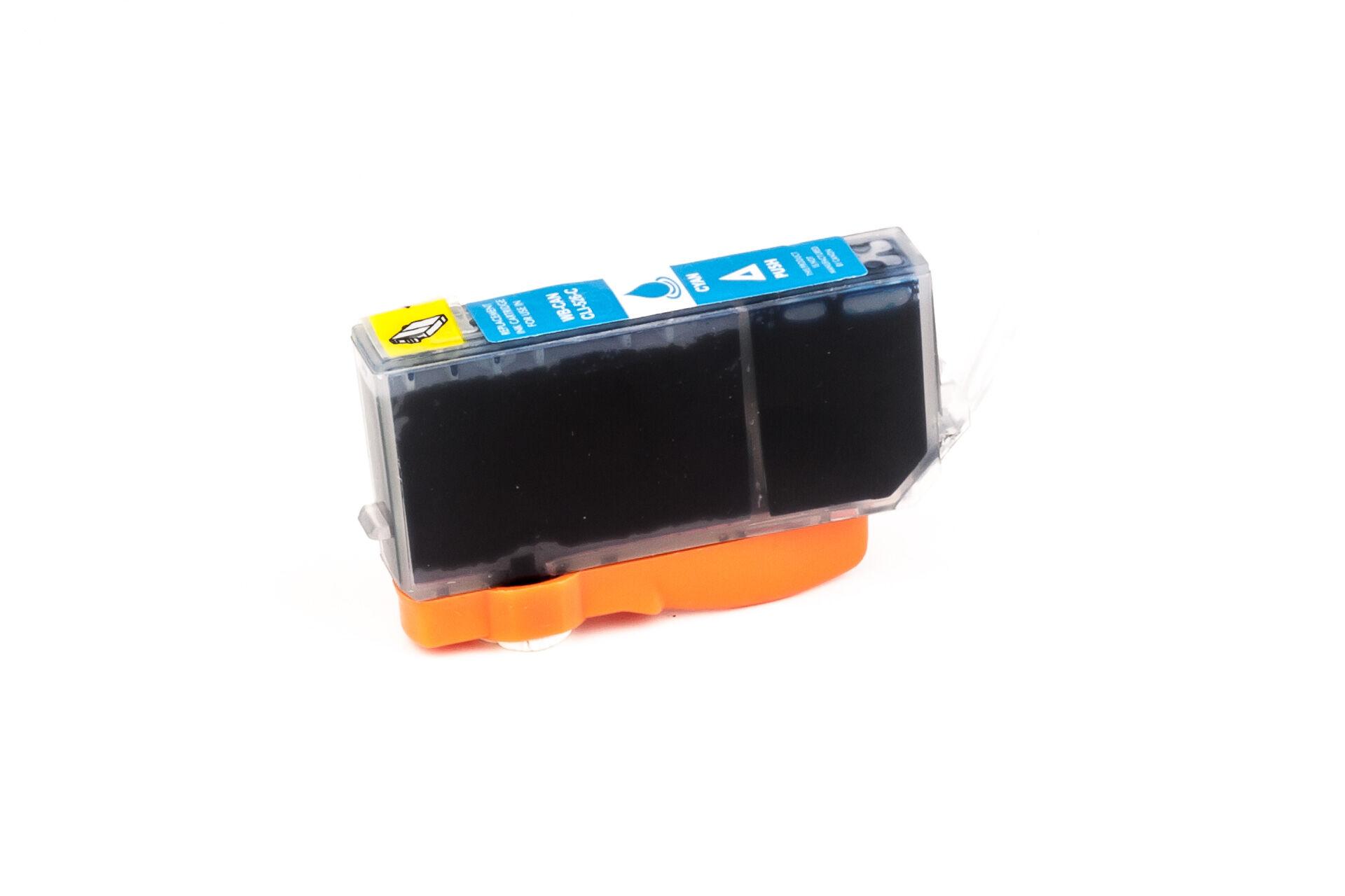 Canon Cartouche d'encre pour Canon 4541B001 / CLI-526 C cyan compatible (de marque ASC)