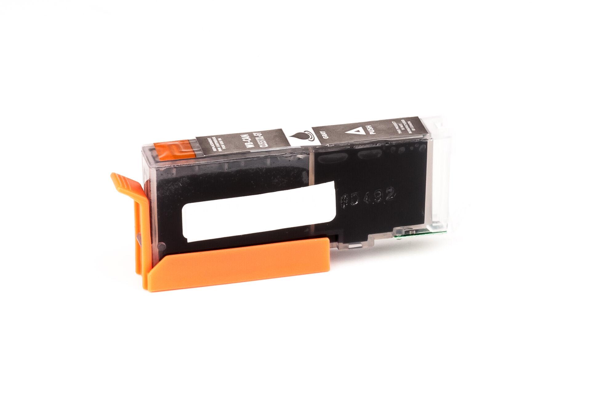 Canon Cartouche d'encre pour Canon 6447B001 / CLI-551 GYXL gris compatible (de marque ASC)