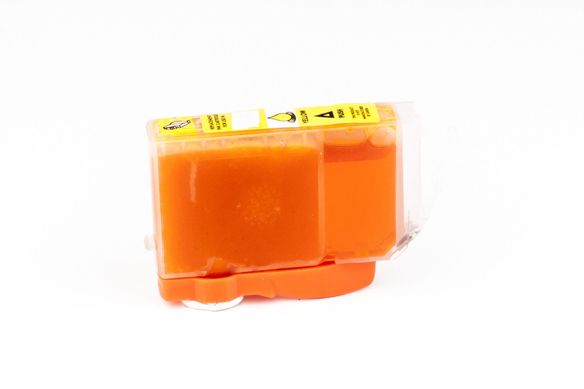 Canon Cartouche d'encre pour Canon 0623B001 / CLI-8 Y jaune compatible (de marque ASC)