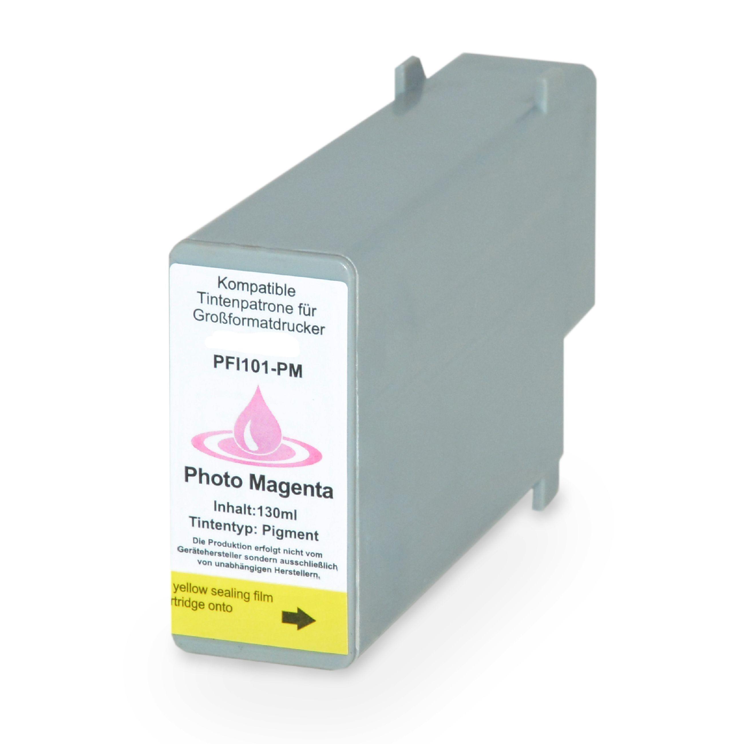 Canon Cartouche d'encre pour Canon 0888B001 / PFI-101 PM Magenta-photo compatible (de marque ASC)
