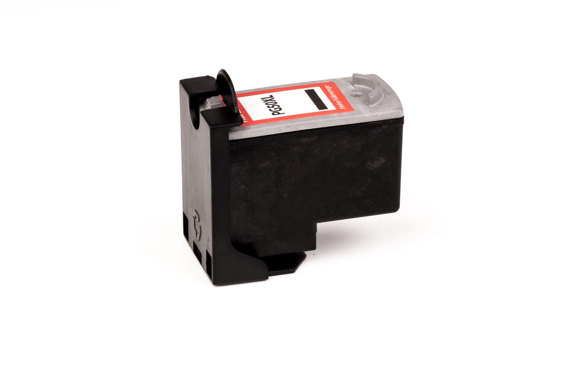 Canon Cartouche d'encre pour Canon 0616B001 / PG-50 noir compatible (de marque ASC)