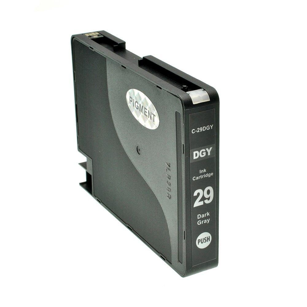 Canon Cartouche d'encre pour Canon 4870B001 / PGI-29 DGY gris compatible (de marque ASC)