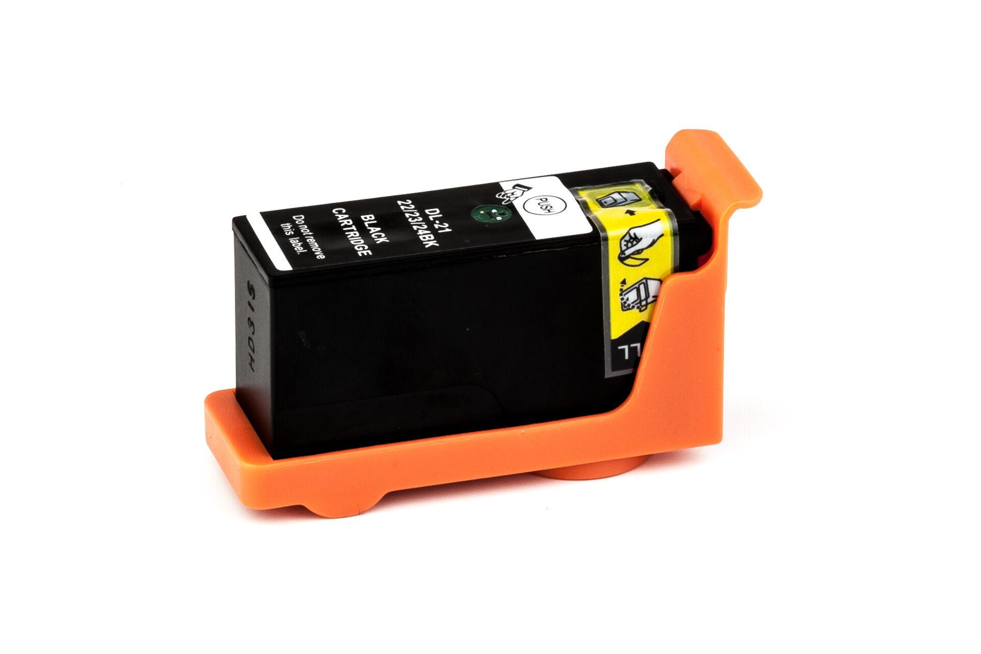 Dell Cartouche d'encre pour Dell 59211331 / Y498D noir compatible (de marque ASC)