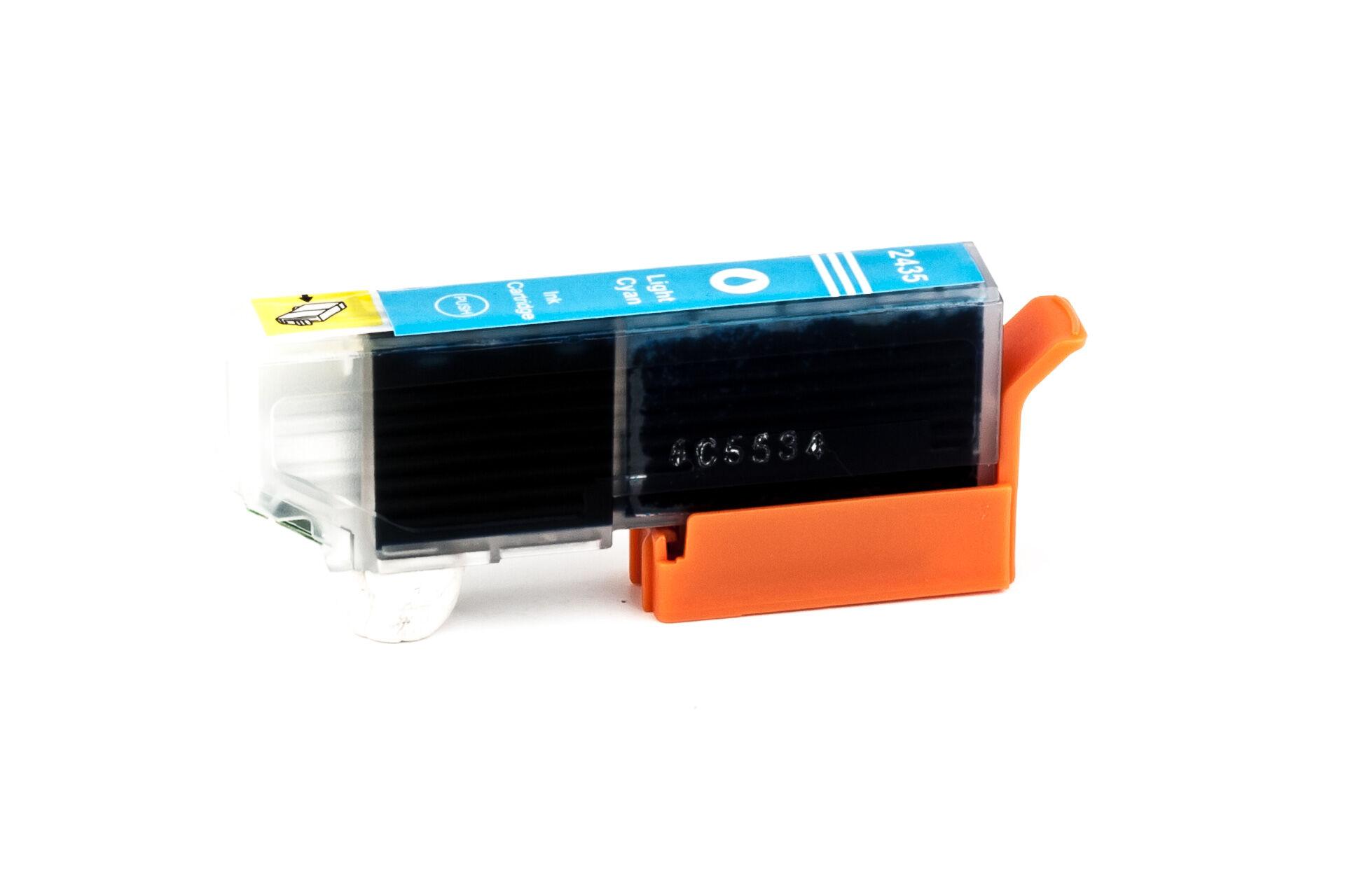 Epson Cartouche d'encre pour Epson C13T24354010 / 24XL cyan-photo compatible (de marque ASC)
