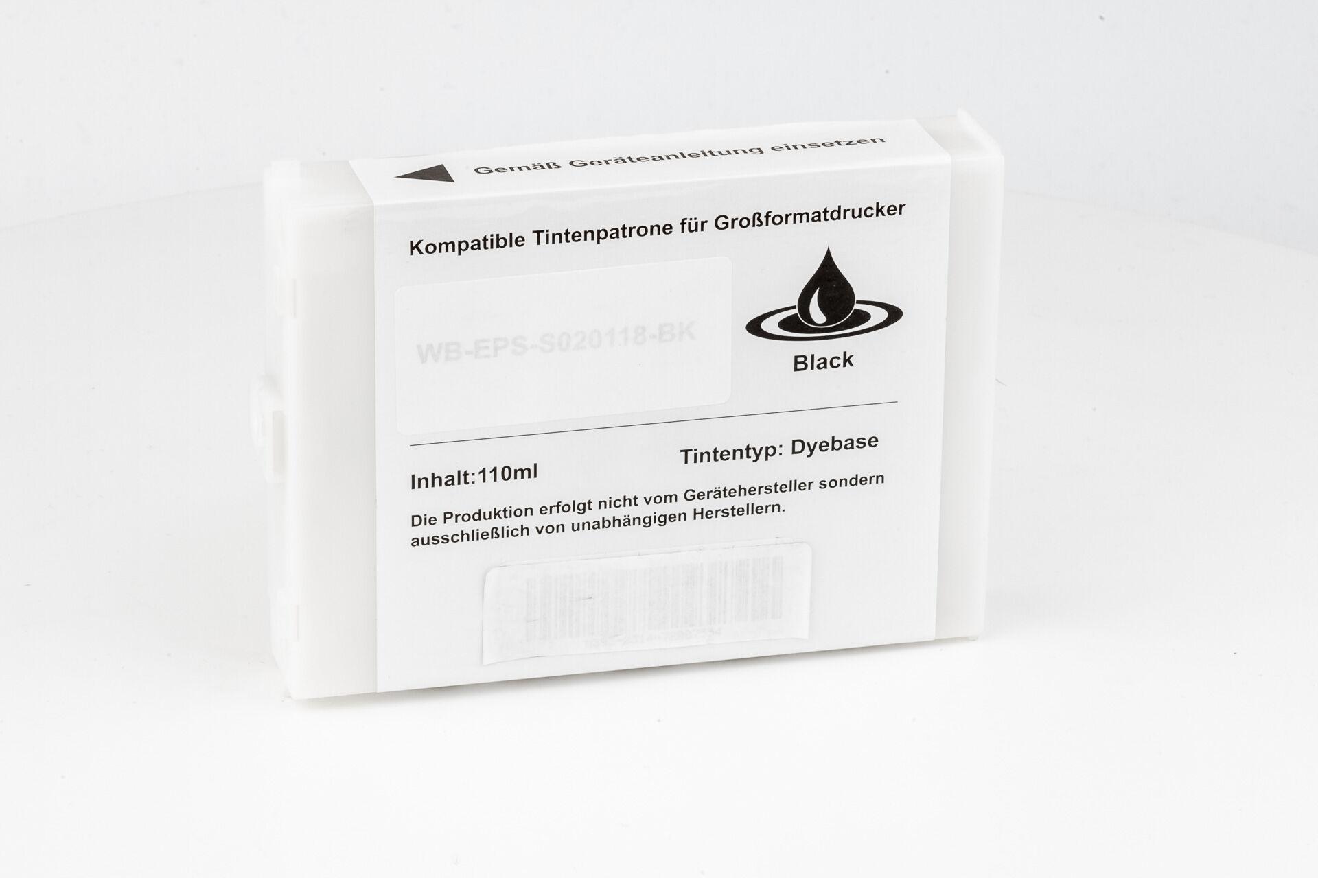 Epson Cartouche d'encre pour Epson C13S020118 noir compatible (de marque ASC)