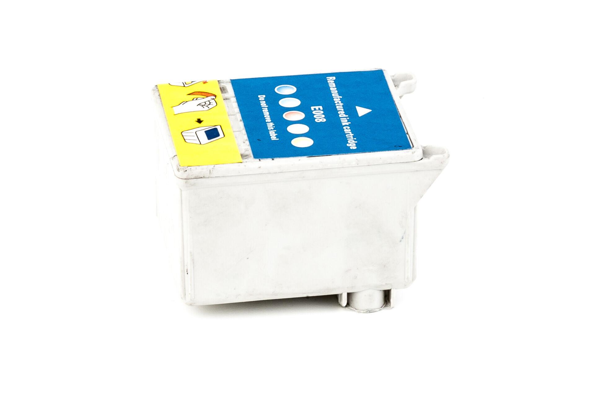 Epson Cartouche d'encre pour Epson C13T00840110 / T008 Couleur compatible (de marque ASC)