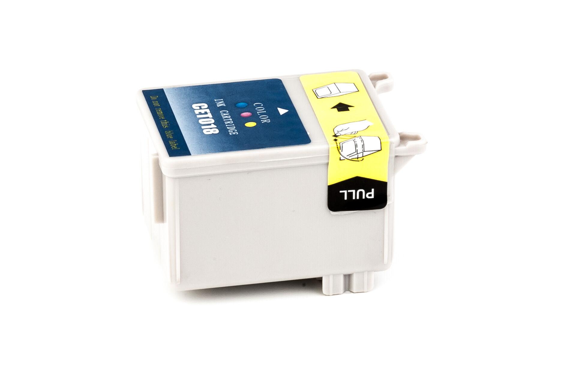 Epson Cartouche d'encre pour Epson C13T01840110 / T018 Couleur compatible (de marque ASC)