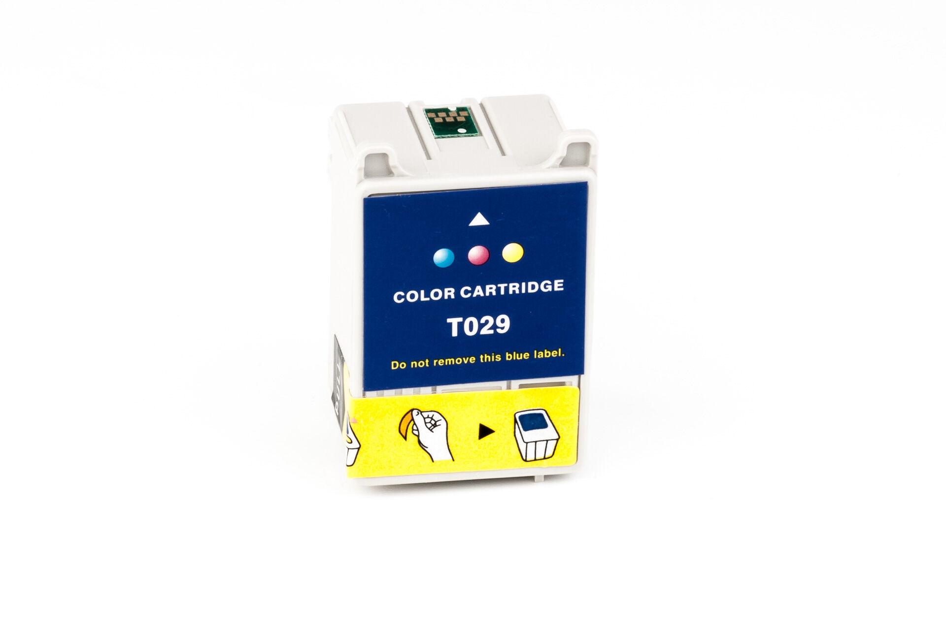 Epson Cartouche d'encre pour Epson C13T02940110 / T029 Couleur compatible (de marque ASC)