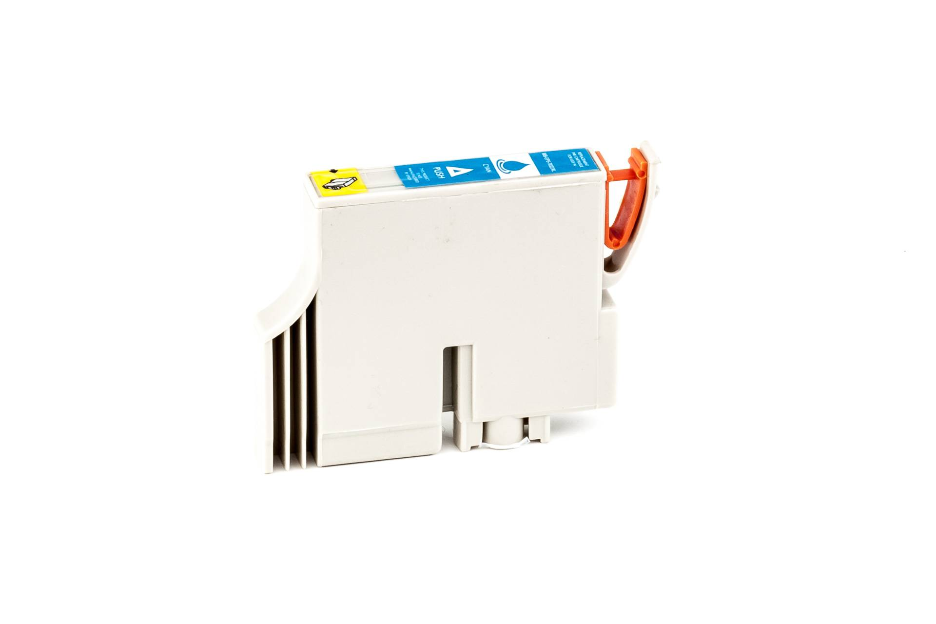 Epson Cartouche d'encre pour Epson C13T03224010 / T0322 cyan compatible (de marque ASC)