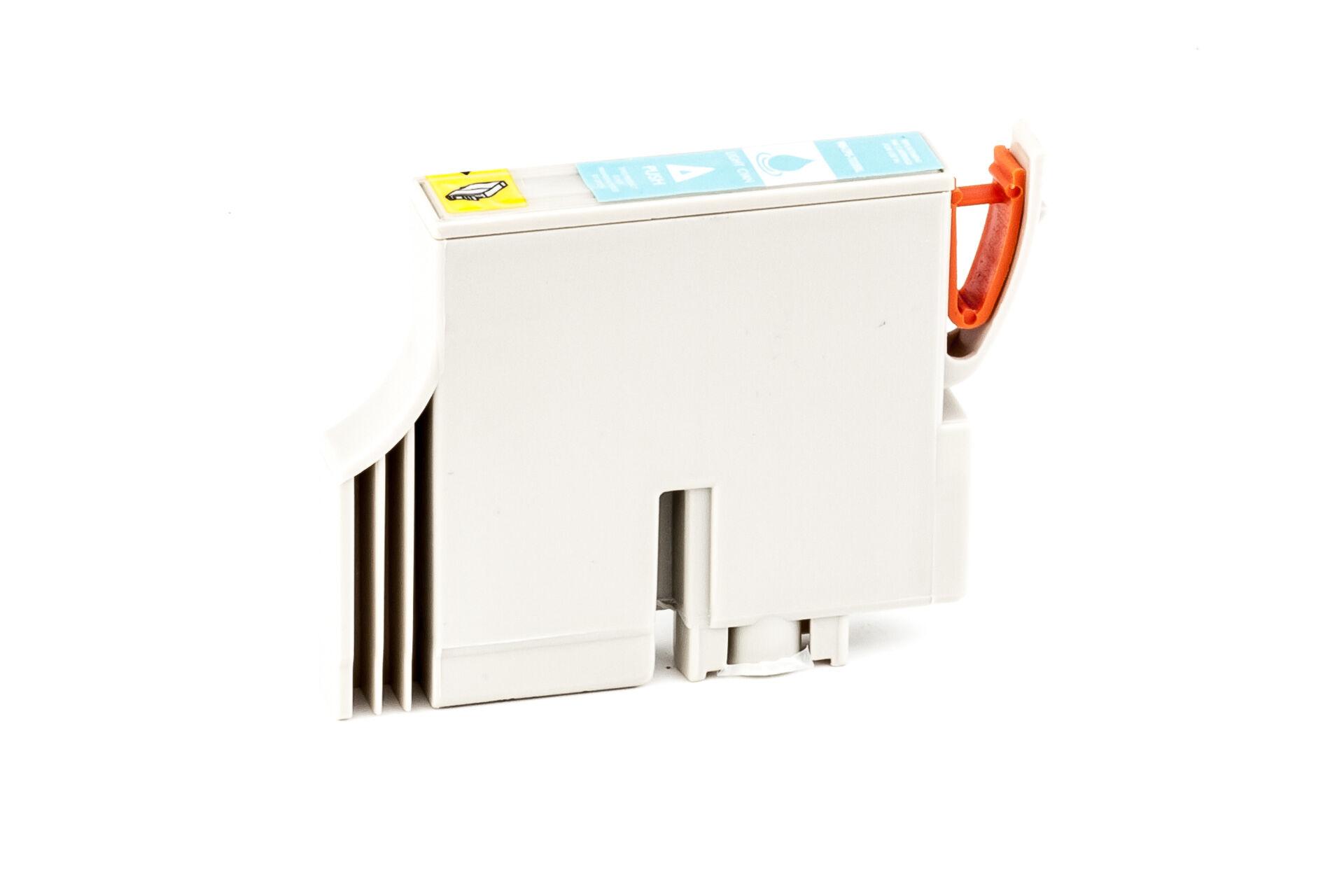 Epson Cartouche d'encre pour Epson C13T03354010 / T0335 cyan-photo compatible (de marque ASC)