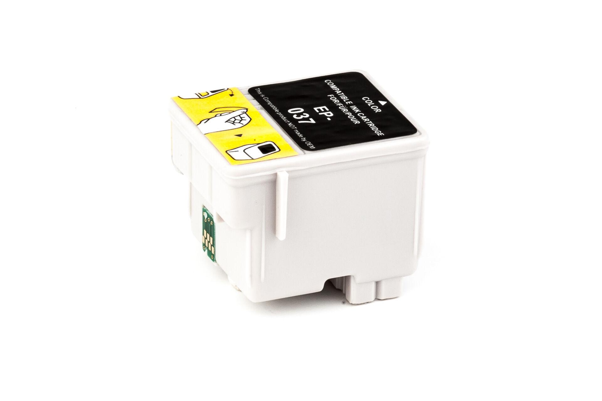 Epson Cartouche d'encre pour Epson C13T03704010 / T037 Couleur compatible (de marque ASC)