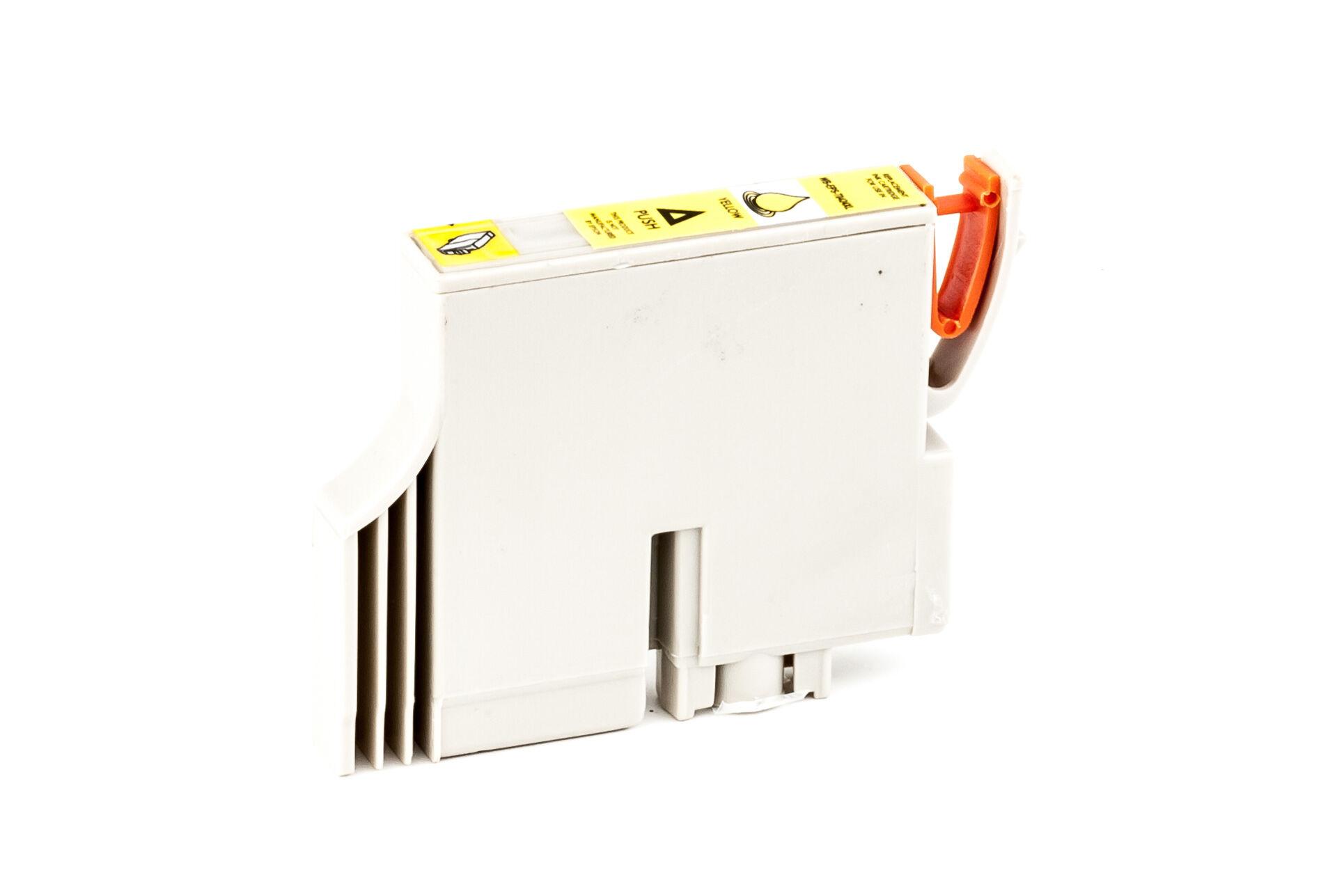 Epson Cartouche d'encre pour Epson C13T04244010 / T0424 jaune compatible (de marque ASC)