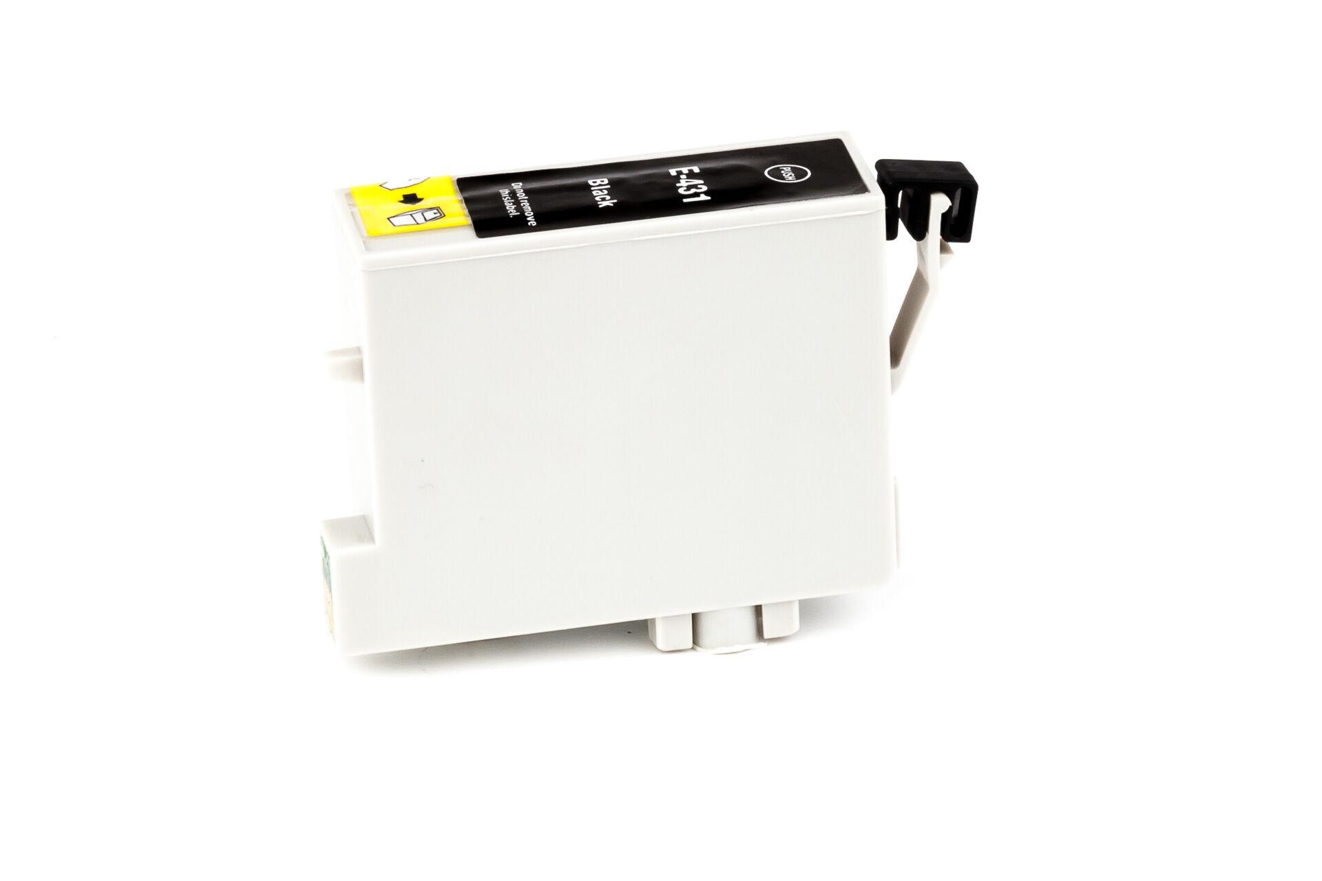 Epson Cartouche d'encre pour Epson C13T04314010 / T0431 noir compatible (de marque ASC)