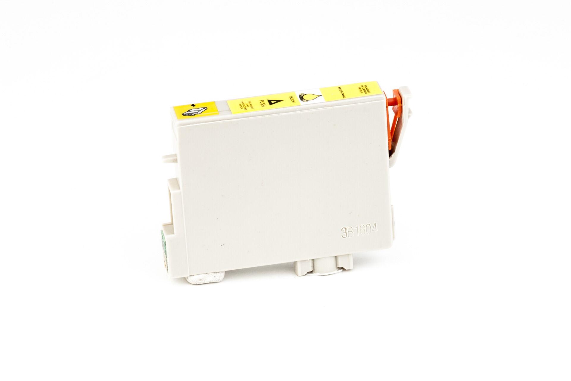 Epson Cartouche d'encre pour Epson C13T04444010 / T0444 jaune compatible (de marque ASC)