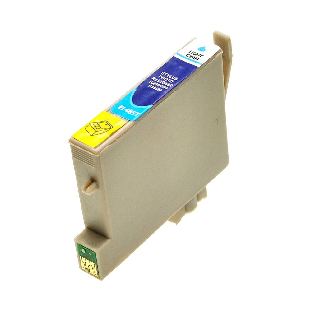 Epson Cartouche d'encre pour Epson C13T04854010 / T0485 cyan-photo compatible (de marque ASC)