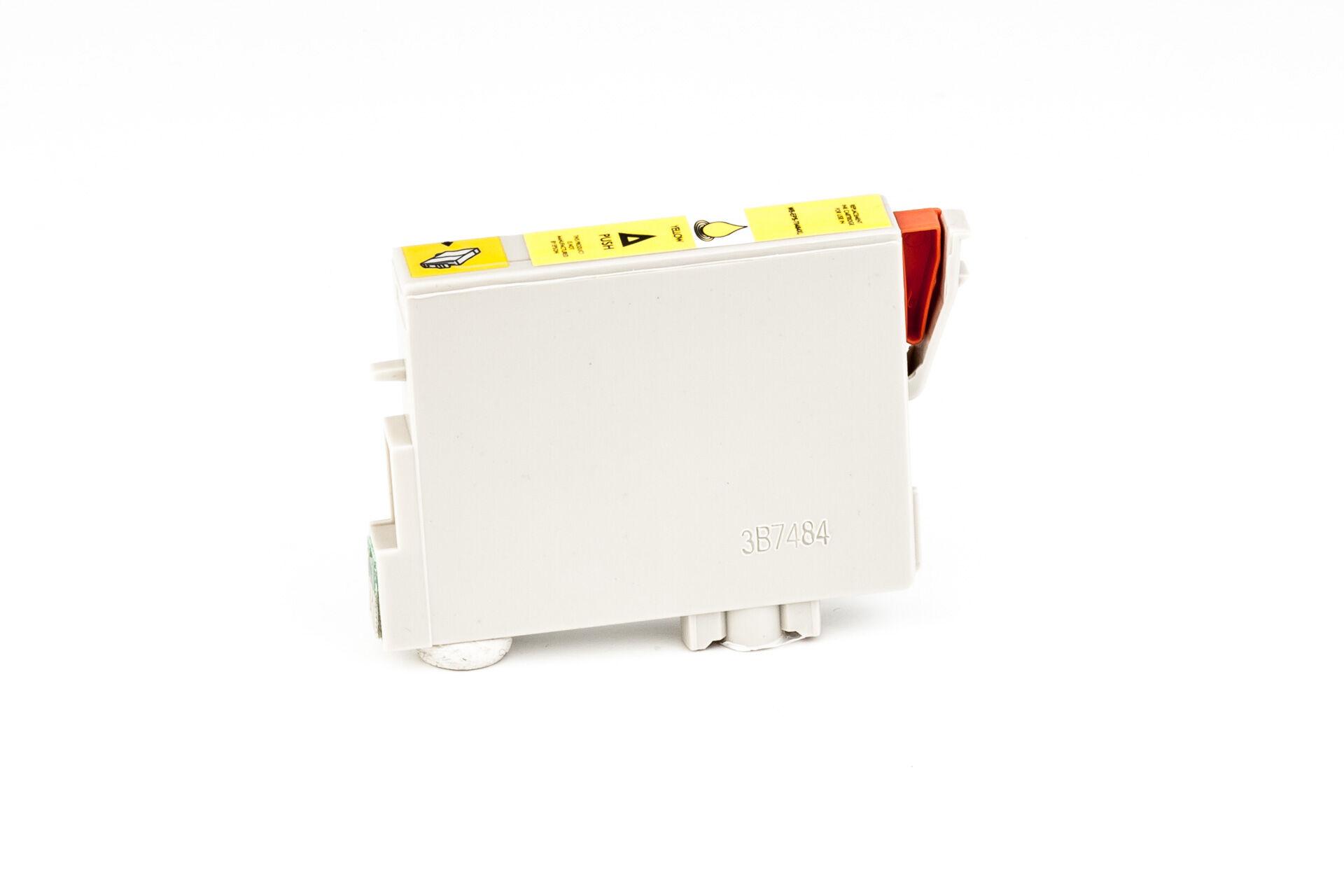 Epson Cartouche d'encre pour Epson C13T04844010 / T0484 jaune compatible (de marque ASC)