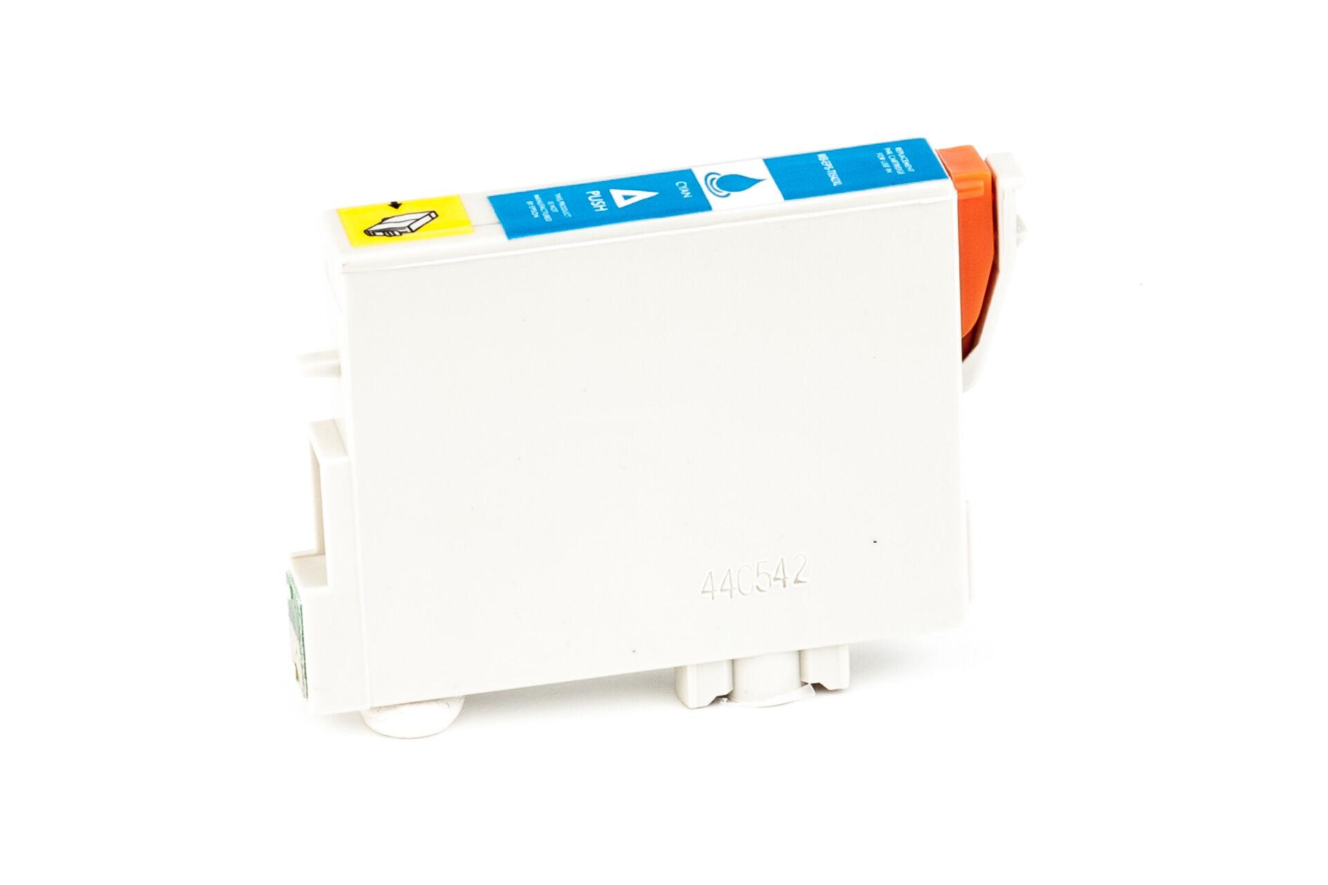 Epson Cartouche d'encre pour Epson C13T05424010 / T0542 cyan compatible (de marque ASC)