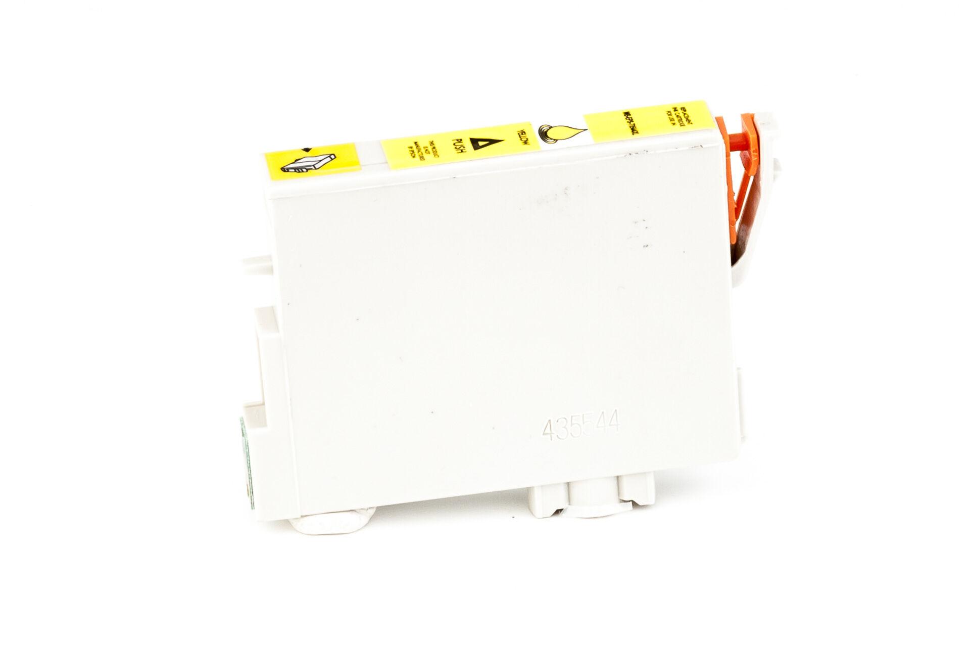 Epson Cartouche d'encre pour Epson C13T05444010 / T0544 jaune compatible (de marque ASC)