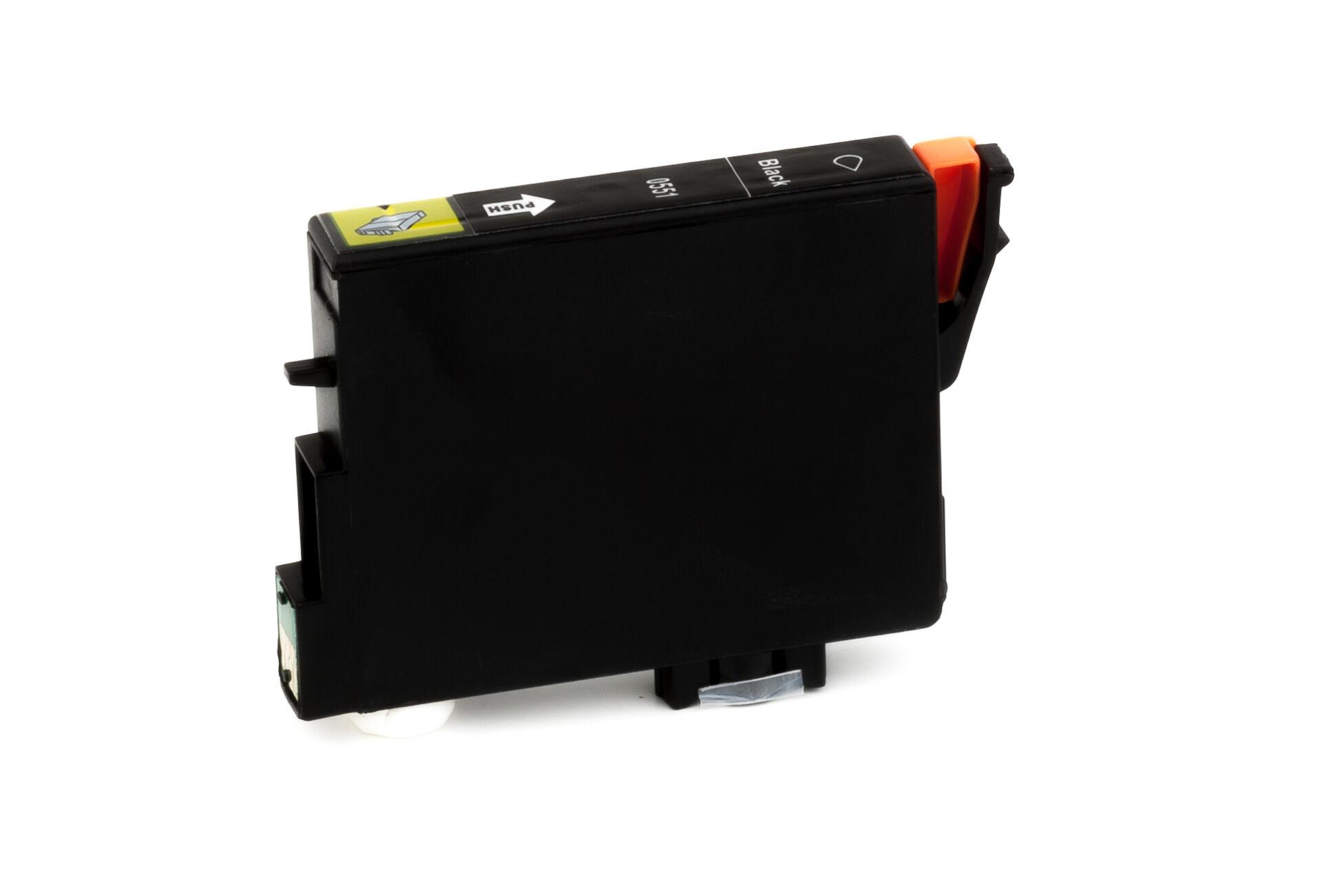 Epson Cartouche d'encre pour Epson C13T05514010 / T0551 noir compatible (de marque ASC)