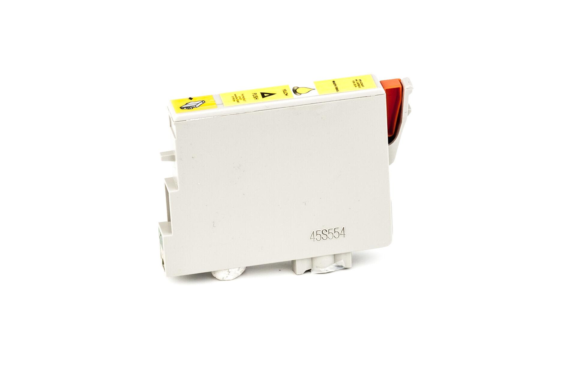 Epson Cartouche d'encre pour Epson C13T05544010 / T0554 jaune compatible (de marque ASC)