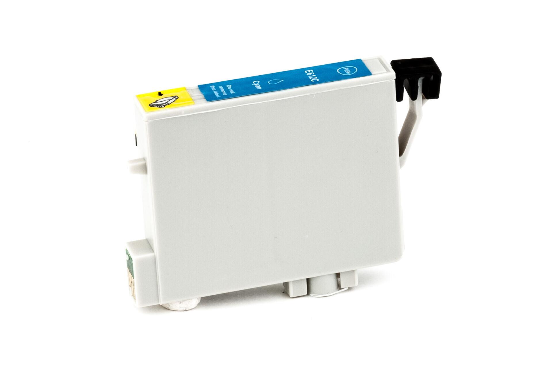 Epson Cartouche d'encre pour Epson C13T06124010 / T0612 cyan compatible (de marque ASC)