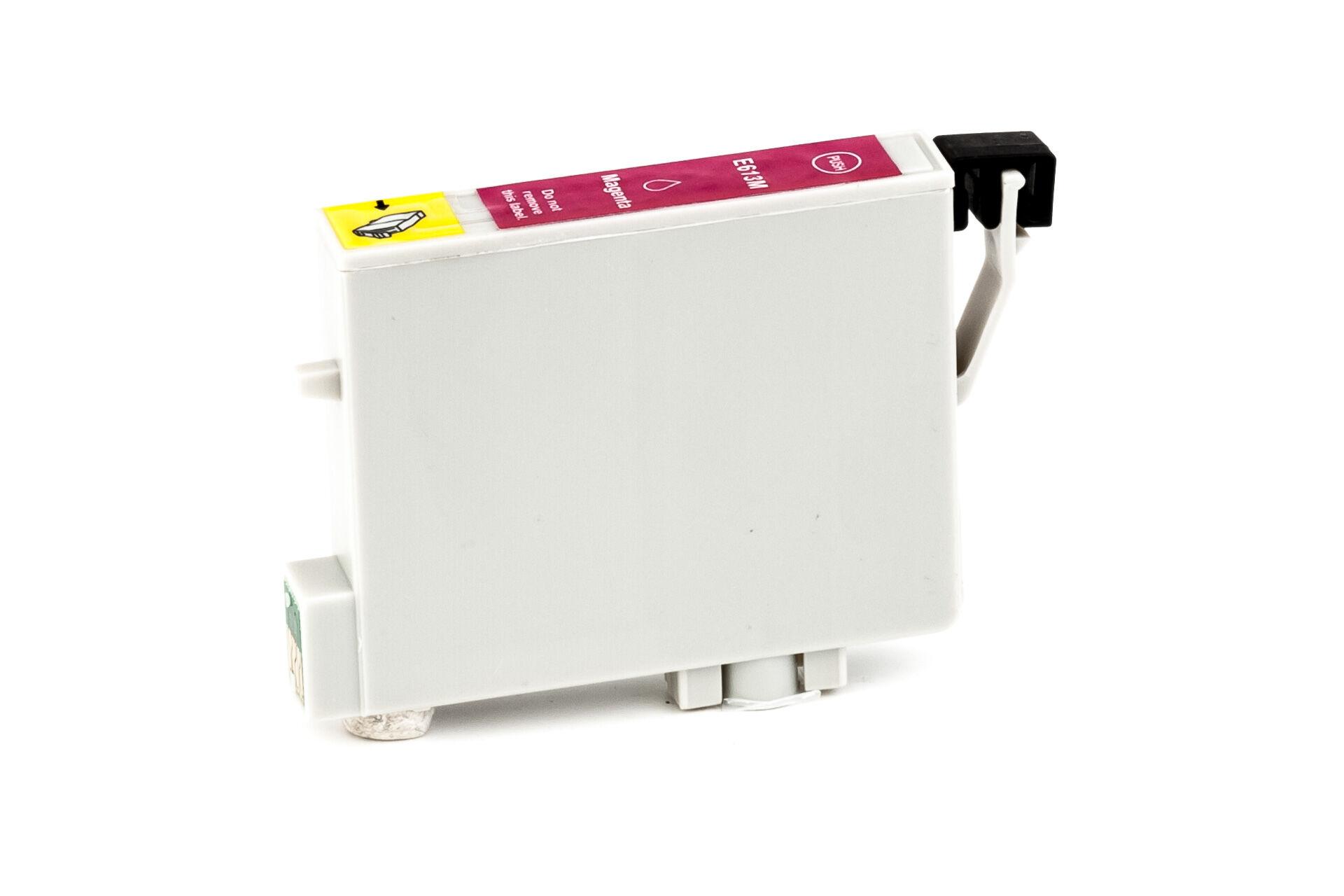 Epson Cartouche d'encre pour Epson C13T06134010 / T0613 magenta compatible (de marque ASC)