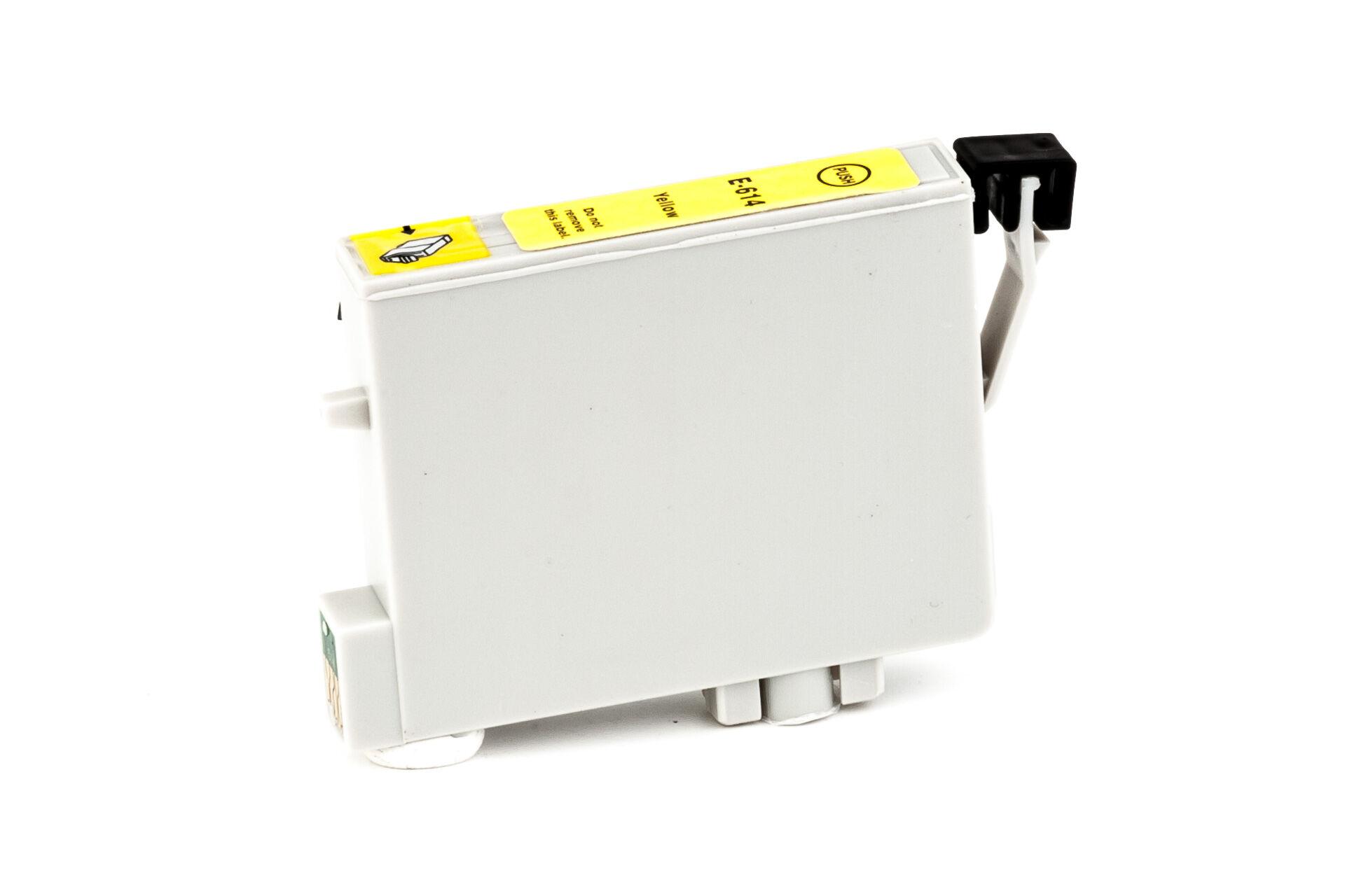 Epson Cartouche d'encre pour Epson C13T06144010 / T0614 jaune compatible (de marque ASC)
