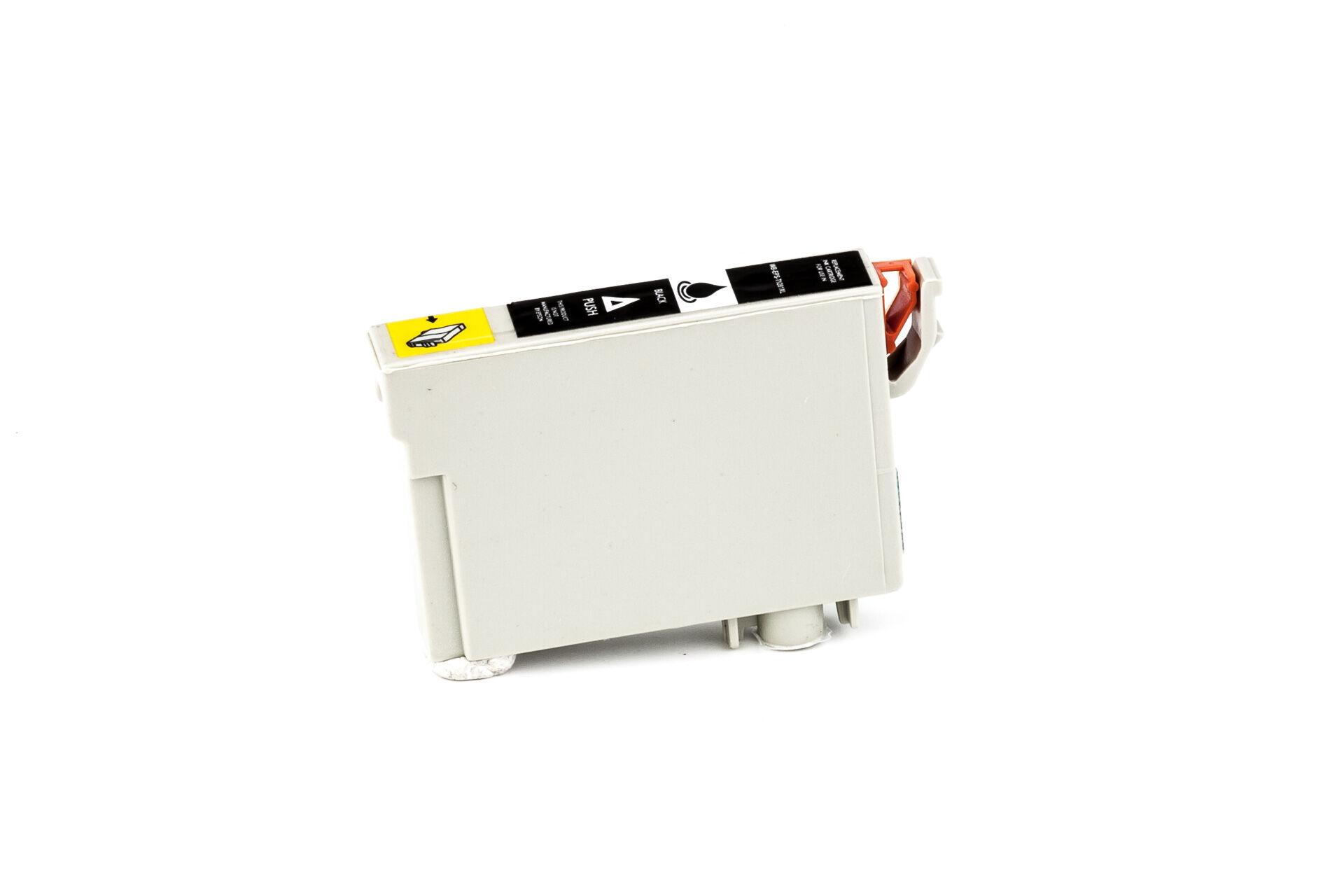 Epson Cartouche d'encre pour Epson C13T12814011 / T1281 noir compatible (de marque ASC)