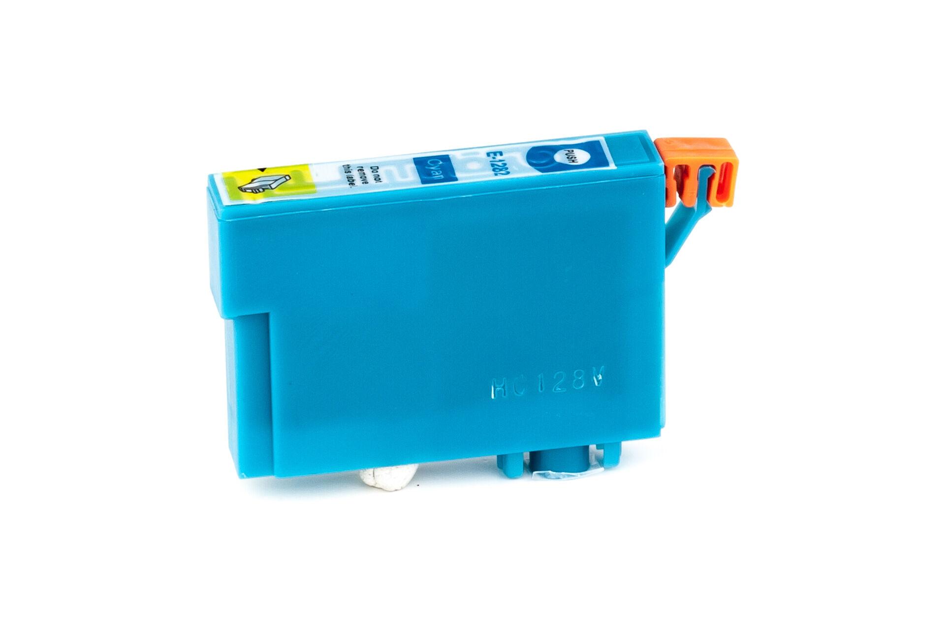 Epson Cartouche d'encre pour Epson C13T12824011 / T1282 cyan compatible (de marque ASC)