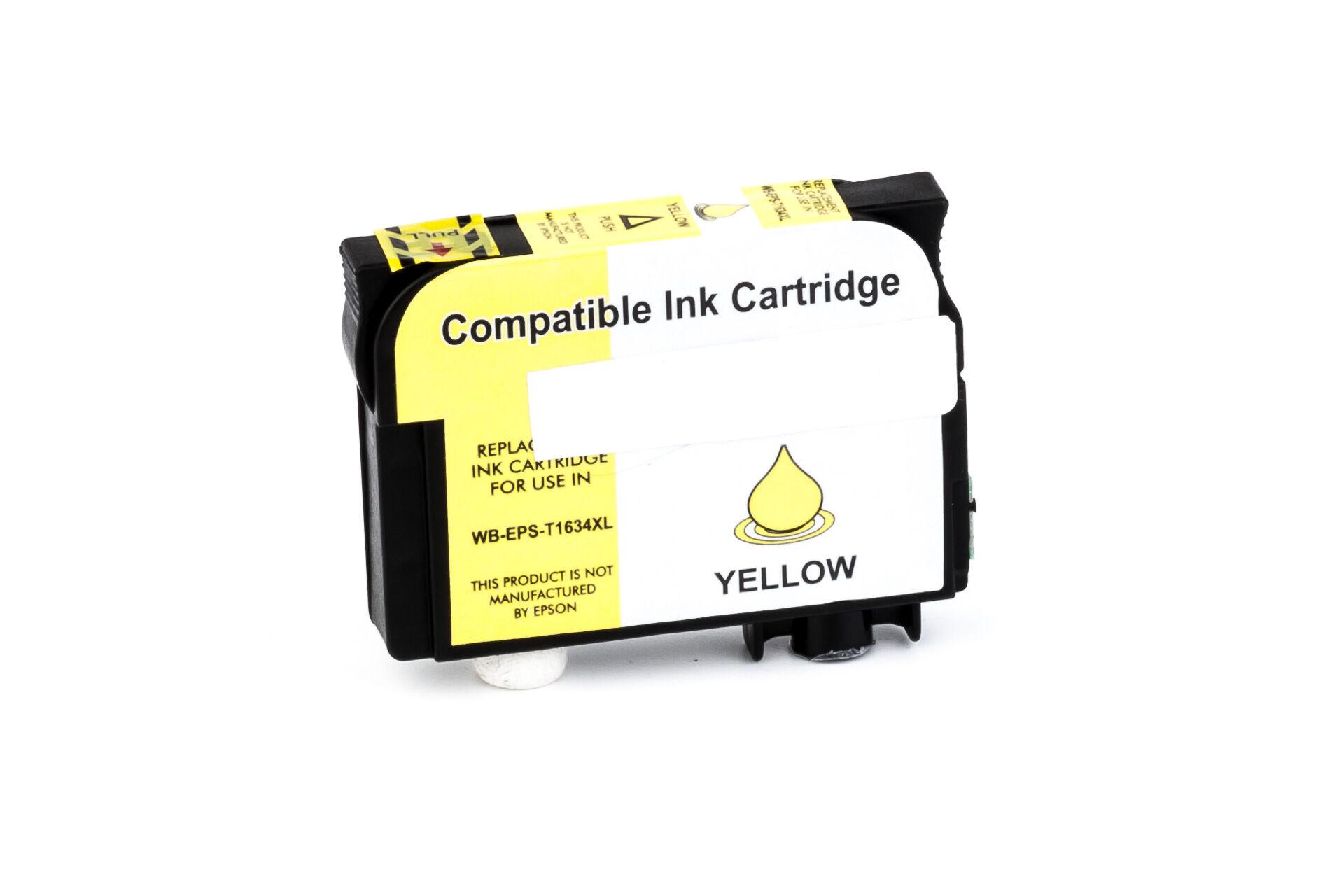Epson Cartouche d'encre pour Epson C13T16344010 / 16XL jaune compatible (de marque ASC)