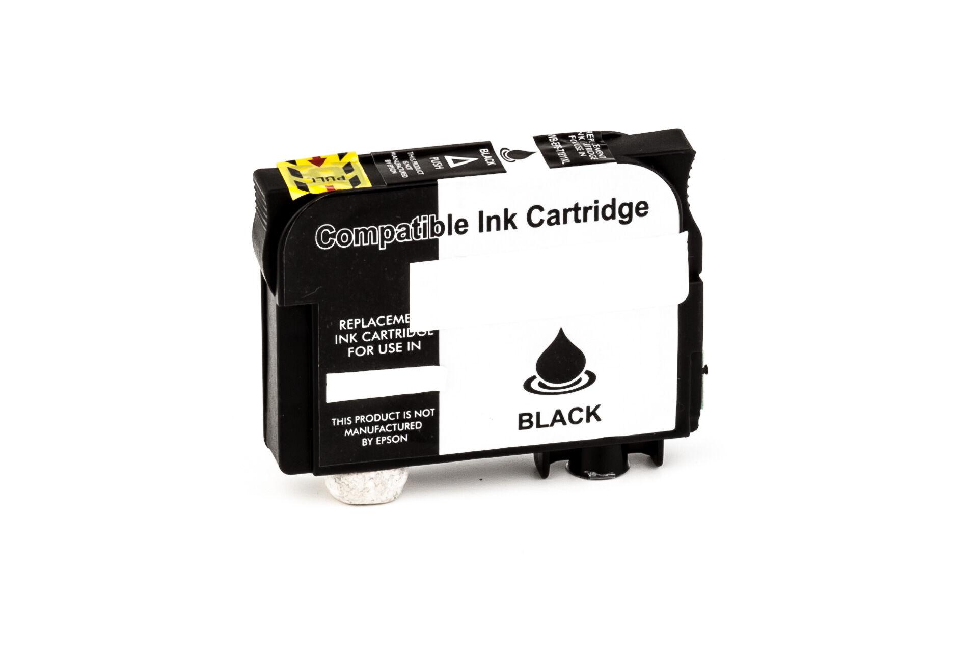 Epson Cartouche d'encre pour Epson C13T18114010 / 18XL noir compatible (de marque ASC)