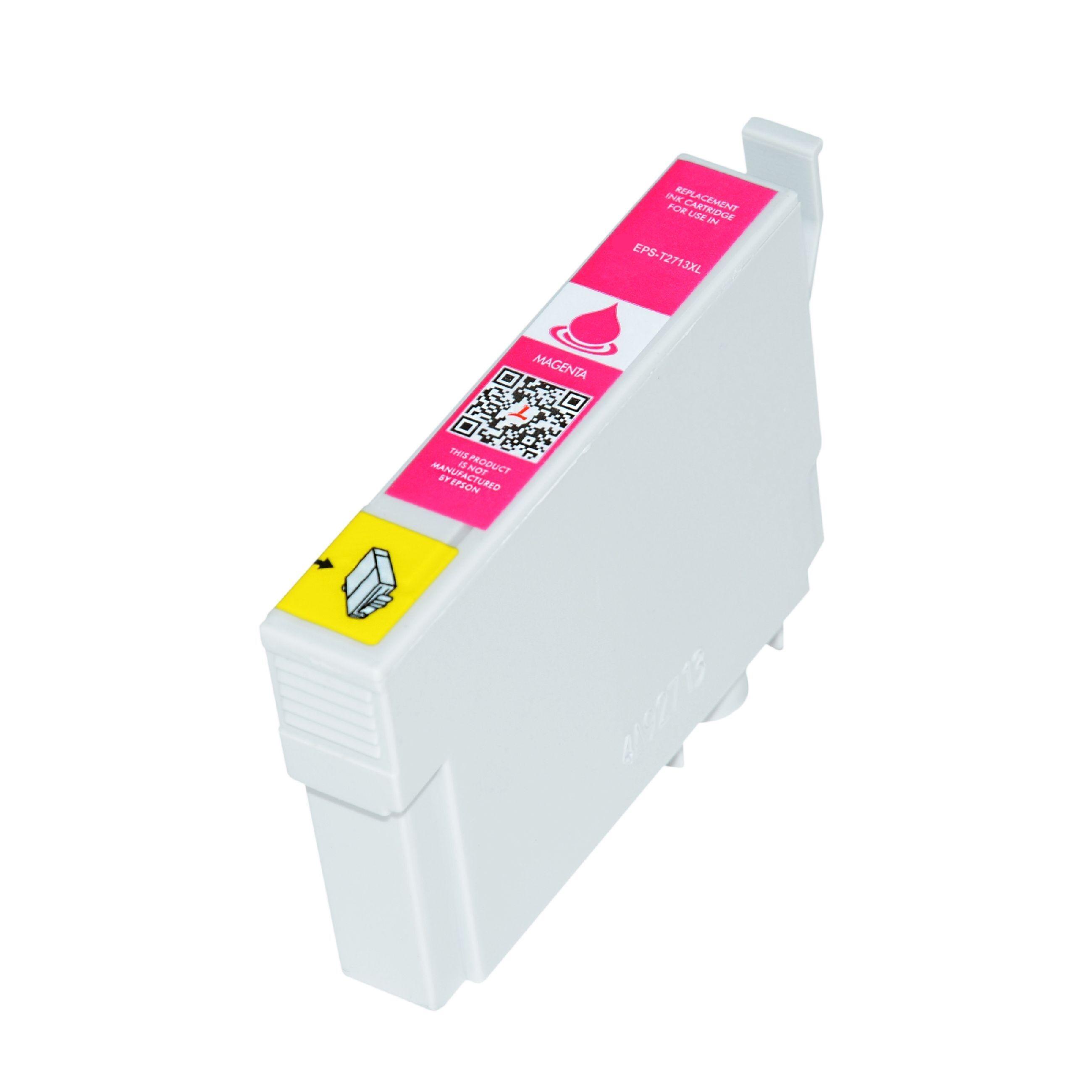 Epson Cartouche d'encre pour Epson C13T27134010 / 27XL magenta compatible (de marque ASC)